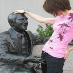 Interesting Facts: 25 People Doing Inappropriate Things To Innocent Statues